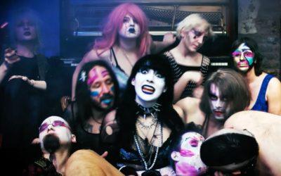 Musik-Video-Dreh mit den Asexual Burnout Sisters