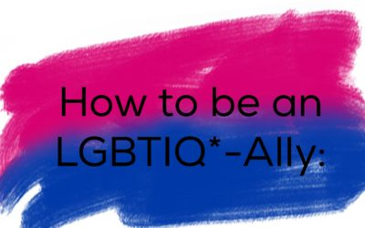How to be an LGBTIQ*-Ally